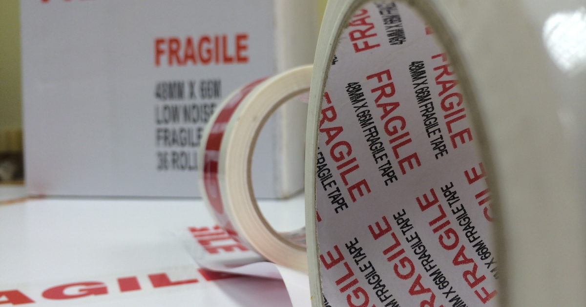 Fragile tapes explode in sales
